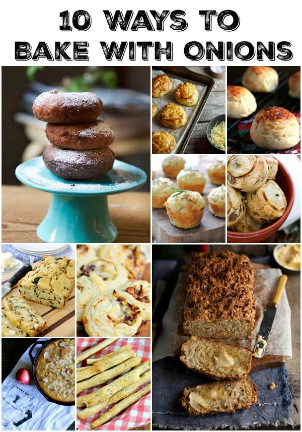 10 ways to bake with onions