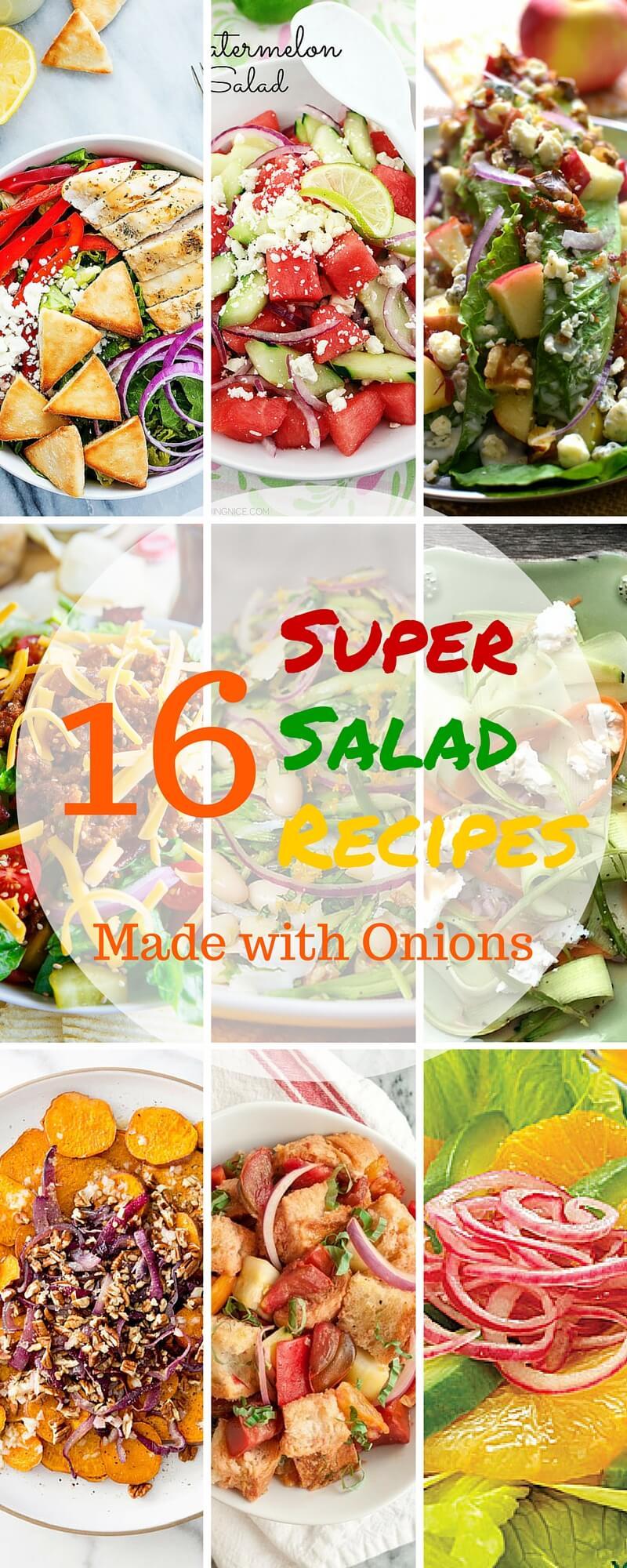 16 Super Salad Recipes