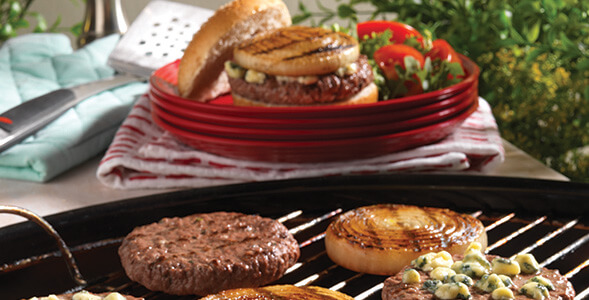 Grilled Onion Cheeseburgers National Onion Association