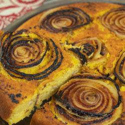 WAlla Walla Sweet Onion Upside Down Cornbread
