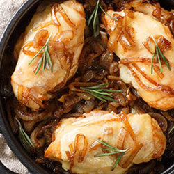 French onion skillet chicken large