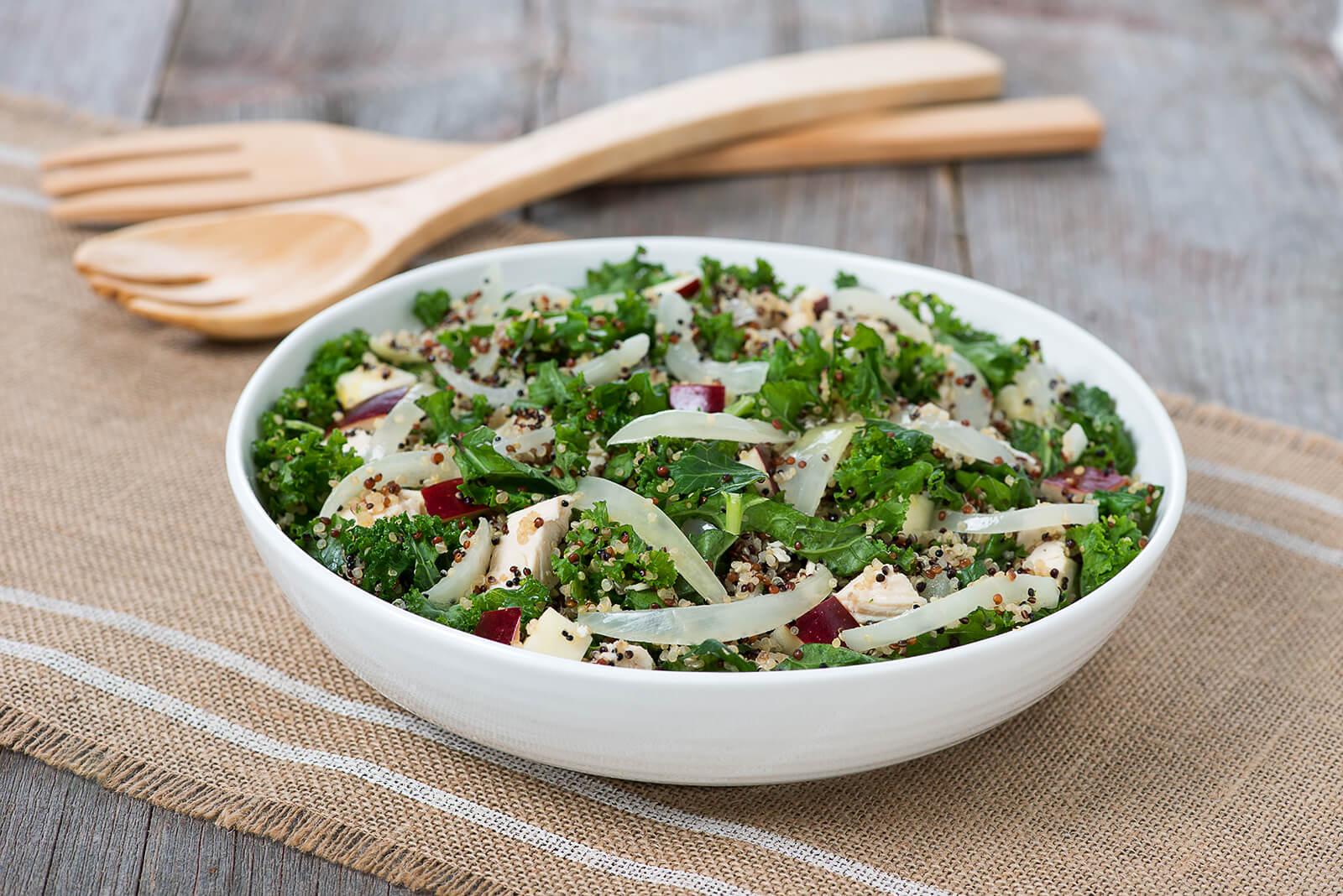 high protein onion quinoa salad 011 Edit